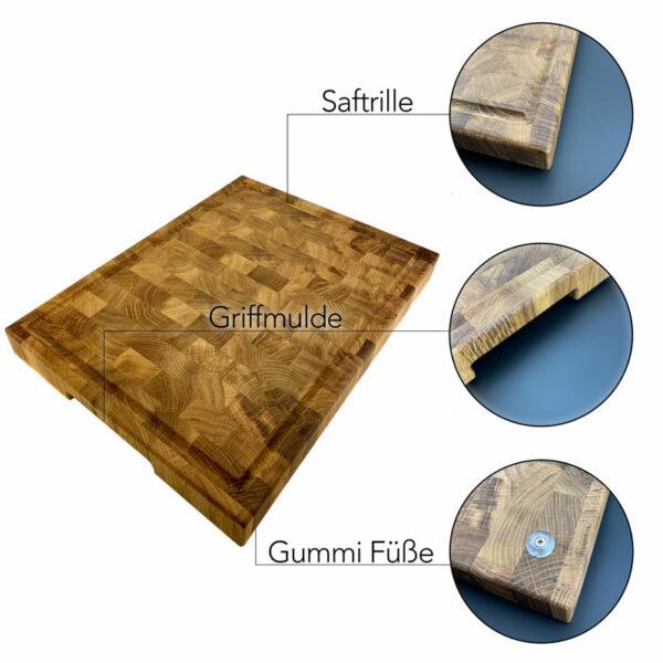 Schneidebrett Merkmale - Holz Gold