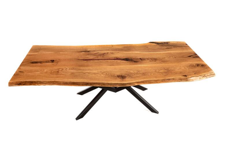 Massivholz Tischplatte aus Eiche - Holz Gold