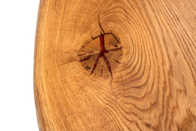 Massivholz Esstisch aus Eiche - Holz Gold
