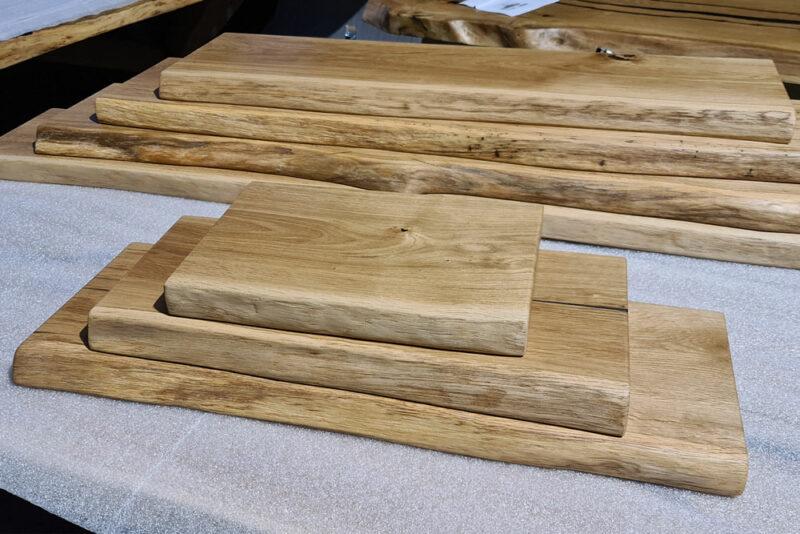 Wandregale in unterschiedlichen Größen - Holz Gold Herford